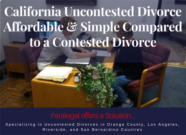 California Uncontested Divorce Orange County